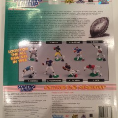 1998 starting lineup classic doubles toy set back package