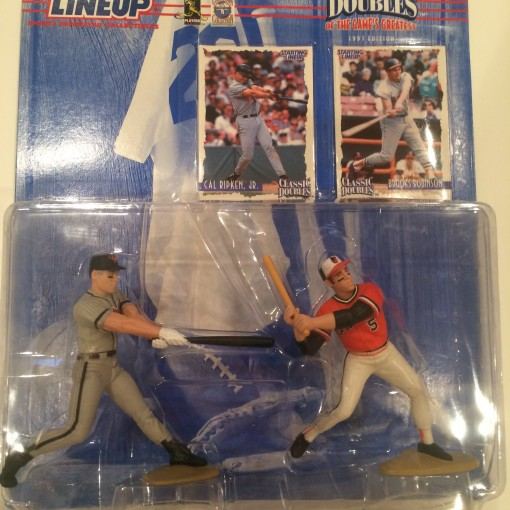 cal ripken jr brooks robinson baltimore orioles mlb starting lineup classic doubles