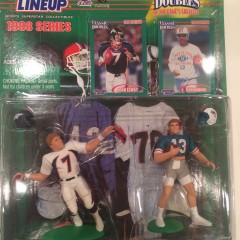 john elway dan marino starting lineup classic doubles toy set