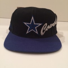vintage deadstock dallas cowboys apex one nfl snapback hat