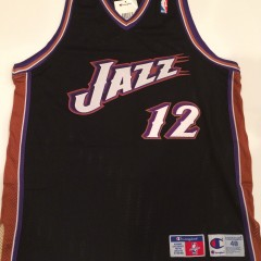 authentic john stockton utah jazz champion nba jersey