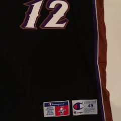 authentic size 48 utah jazz stockton jersey