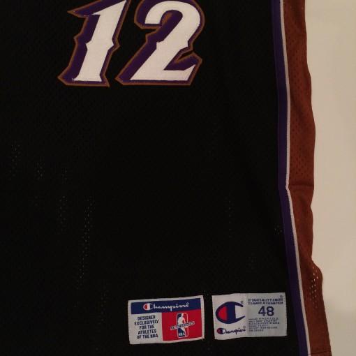 authentic size 48 utah jazz stockton jersey