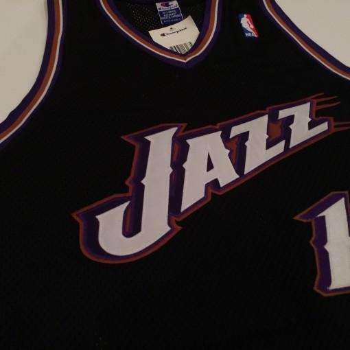 vintage utah jazz john stockton throwback jersey