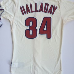 authentic roy halladay philadelphia phillies cream alternate jersey