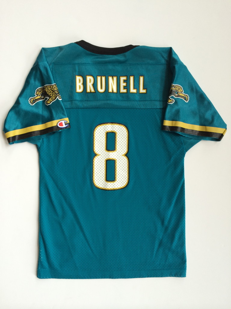 Good Mark Brunell Jacksonville Jaguars Champion Nfl Football Jersey