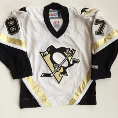 vintage sidney crosby pittsburgh penguins rookie jersey