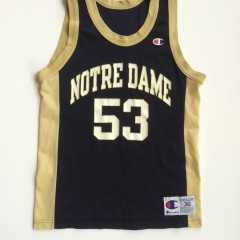 Vintage Notre Dame Fighting Irish Pat Garrity ncaa basketball jersey