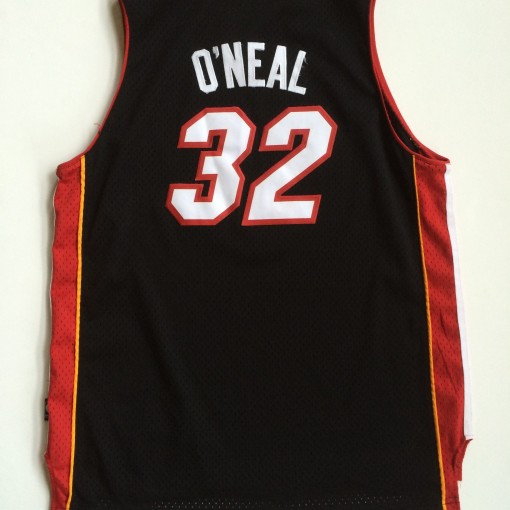 miami heat shaq throwback nba jersey