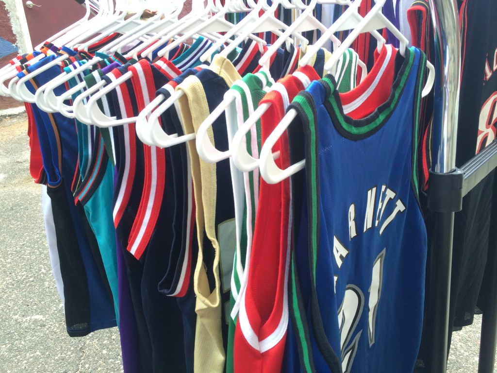 large selection of vintage champion jerseys