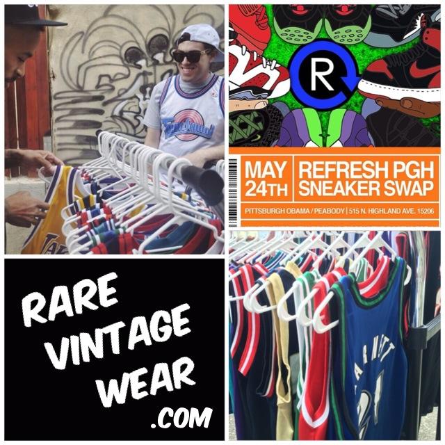 rare vintage wear x refresh pgh spring sneaker swap 2014