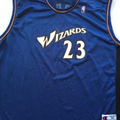 michael jordan washington wizards throwback jersey size XXL 52
