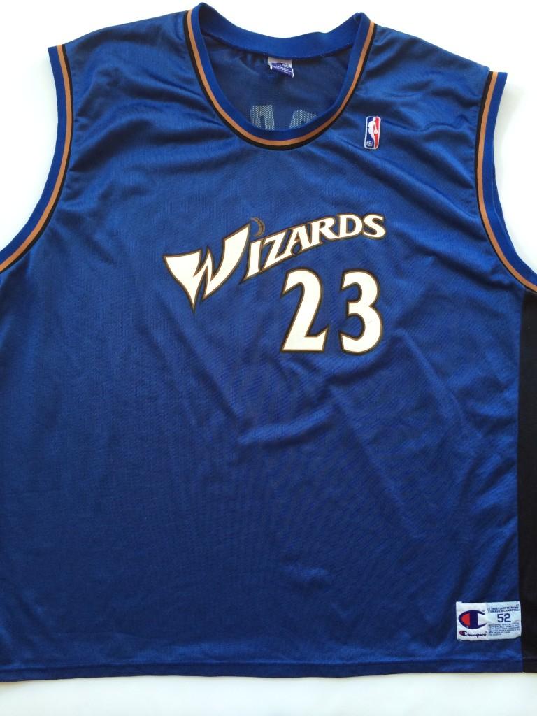 new style 3d7d0 57122 2001 Michael Jordan Washington Wizards Champion NBA Jersey Size 52