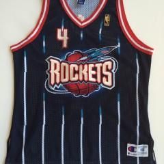 vintage houston rockets charles barkley champion 50th anniversary nba jersey size 48