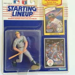 1990 jose canseco starting lineup toy