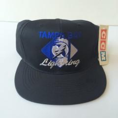 vintage ccm tampa bay lightning nhl snapback hat