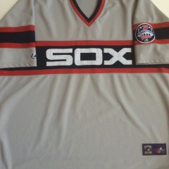 vintage Chicago White Sox majestic mlb baseball jersey grey cooperstown collection