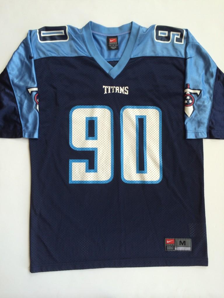 2001 Jevon Kearse Tennessee Titans Nike NFL Jersey Size Medium ... d005eae9e