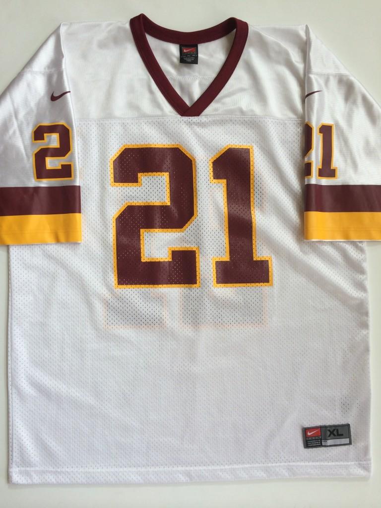 premium selection 628b9 9ac98 2000 Deion Sanders Washington Redskins Nike NFL Jersey Size XL