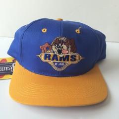 vintage st.louis rams taz looney tunes nfl snapback hat