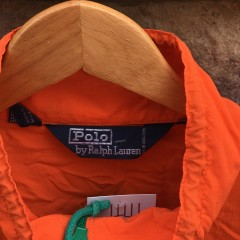 vintage 90's Polo Ralph Lauren Polo Sport jacket orange size large