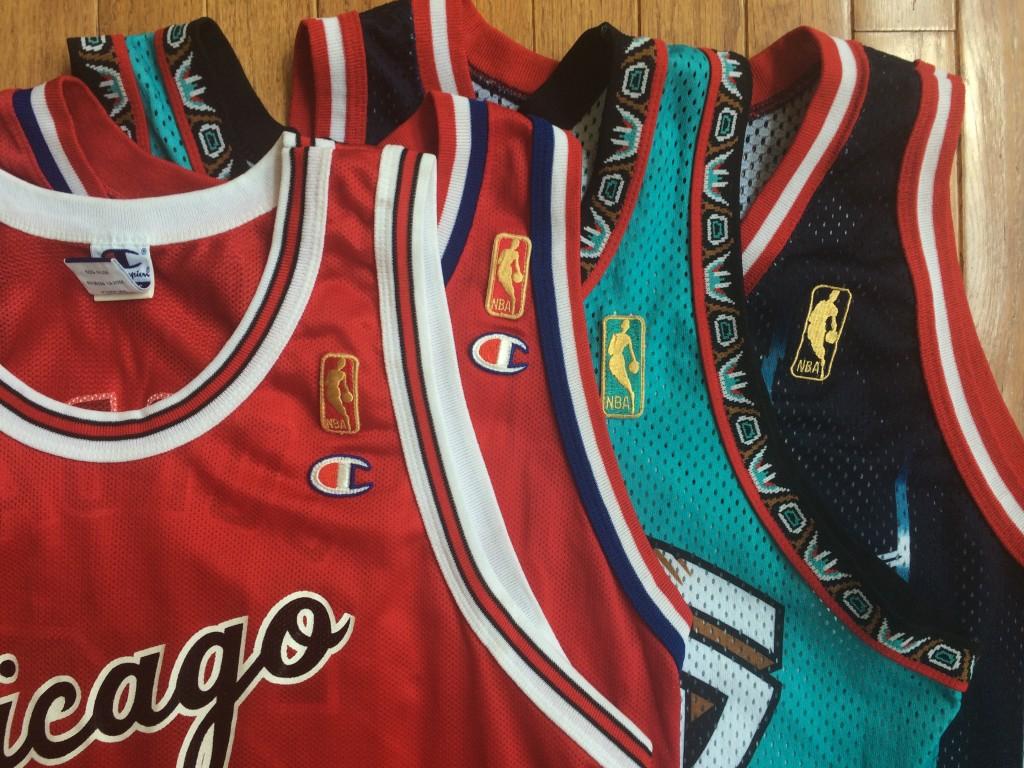 NBA jersey banner