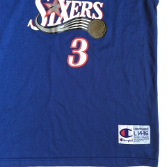 champion nba jersey youth size large