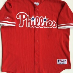 authentic vintage phillies batting practice mlb jersey
