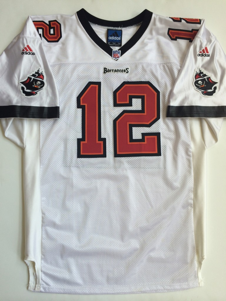 1999 Trent Dilfer Tampa Bay Buccaneers Authentic Adidas NFL Jersey