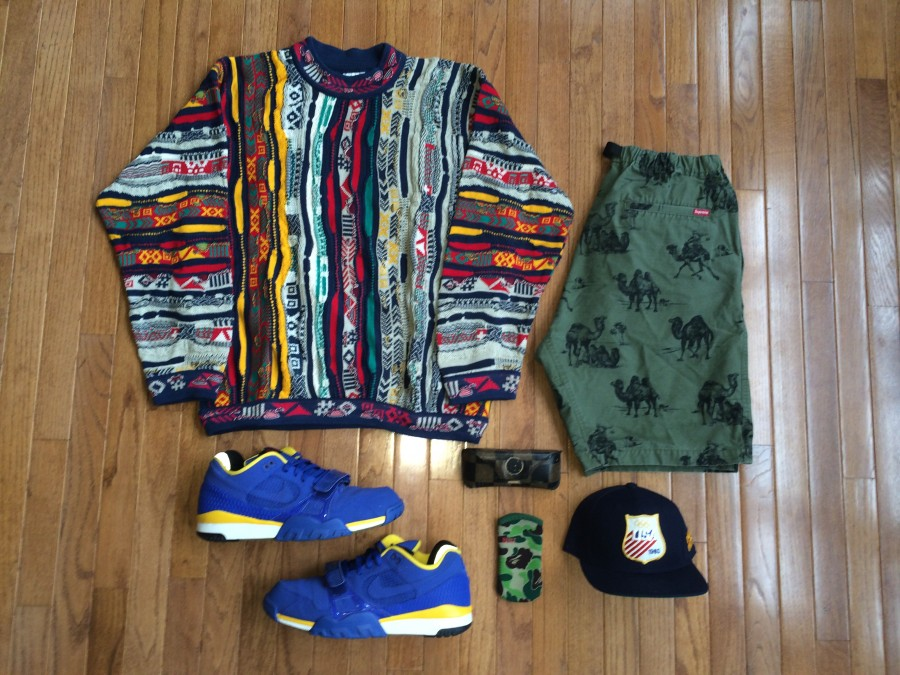 Rare VNTG vintage outfit grid