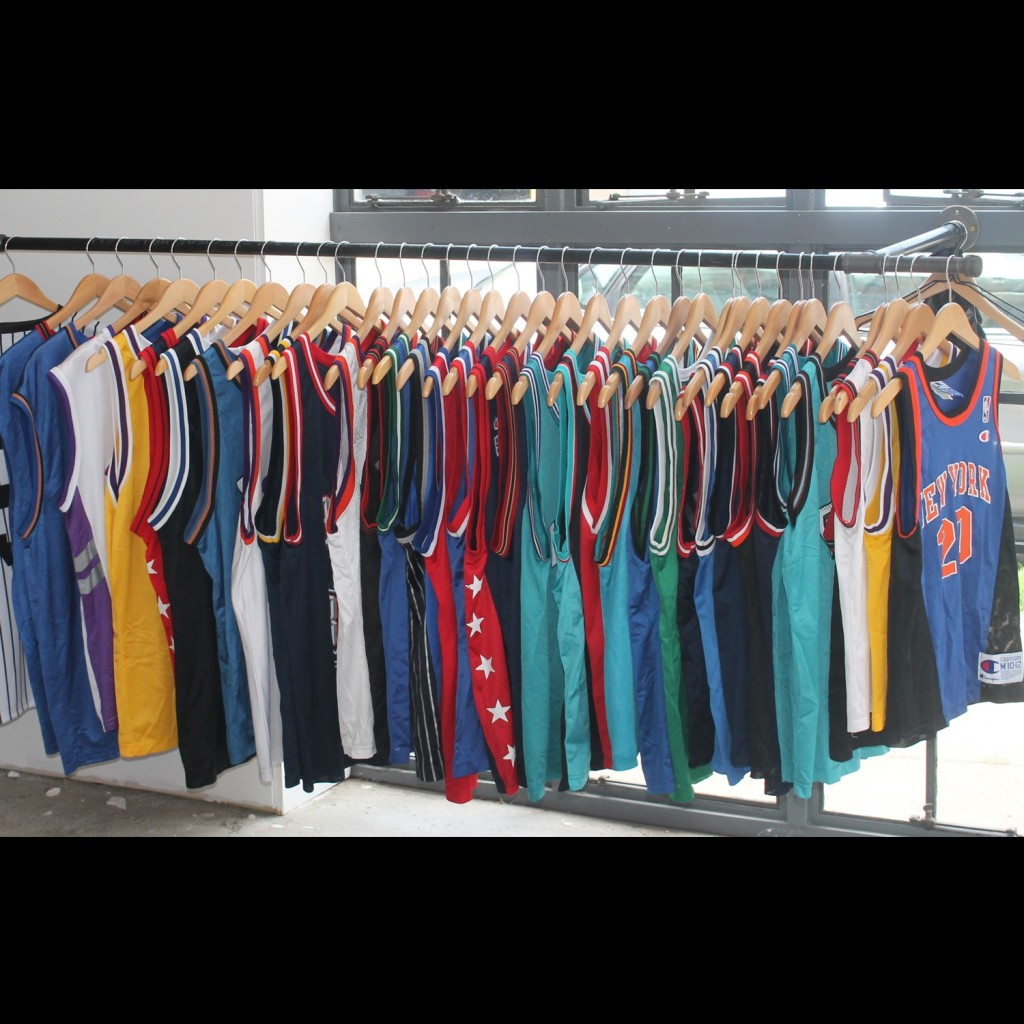 Rare VNTG Champion nba jerseys