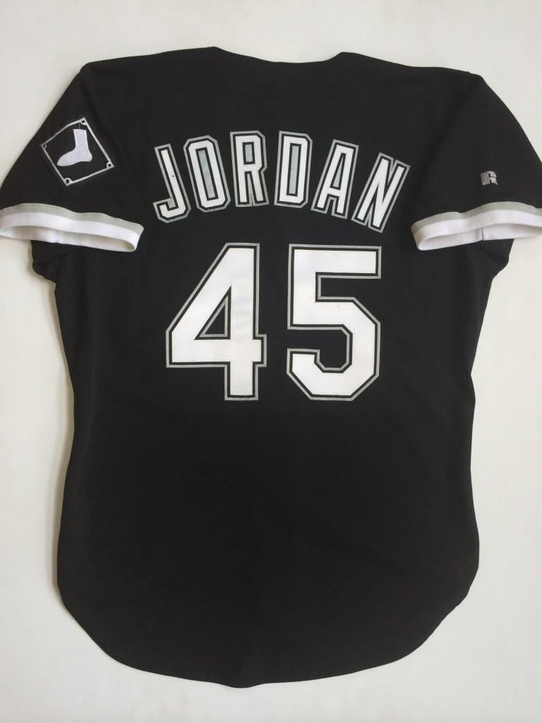 Jordan white sox jersey