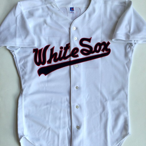 authentic sammy sosa chicago white sox 1989 white jersey