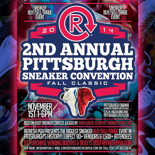 Refresh PGH 2nd annual Pittsburgh Sneaker Convention
