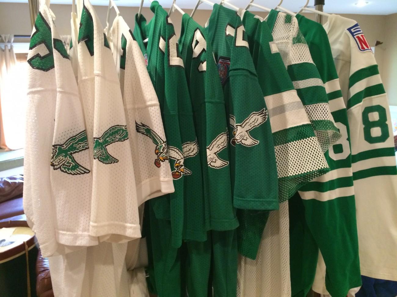 Philadelphia Eagles Vintage uniform history