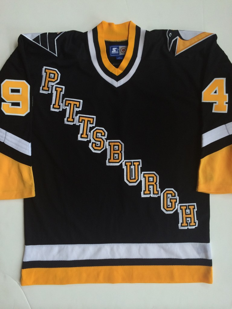 1994 Pittsburgh Penguins GIN AND JUICE Snoop Dogg Jersey Size Medium ... 75161f684c0