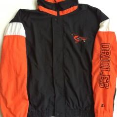 vintage baltimore orioles starter mlb jacket xl