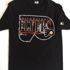 Vintage Philadelphia flyers starter nhl t shirt medium