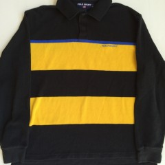 vintage polo sport long sleeved polo xl 90's