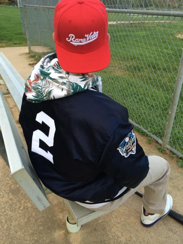 Rare VNTG New York Yankees Derek Jeter Captains Jacket Starter Satin