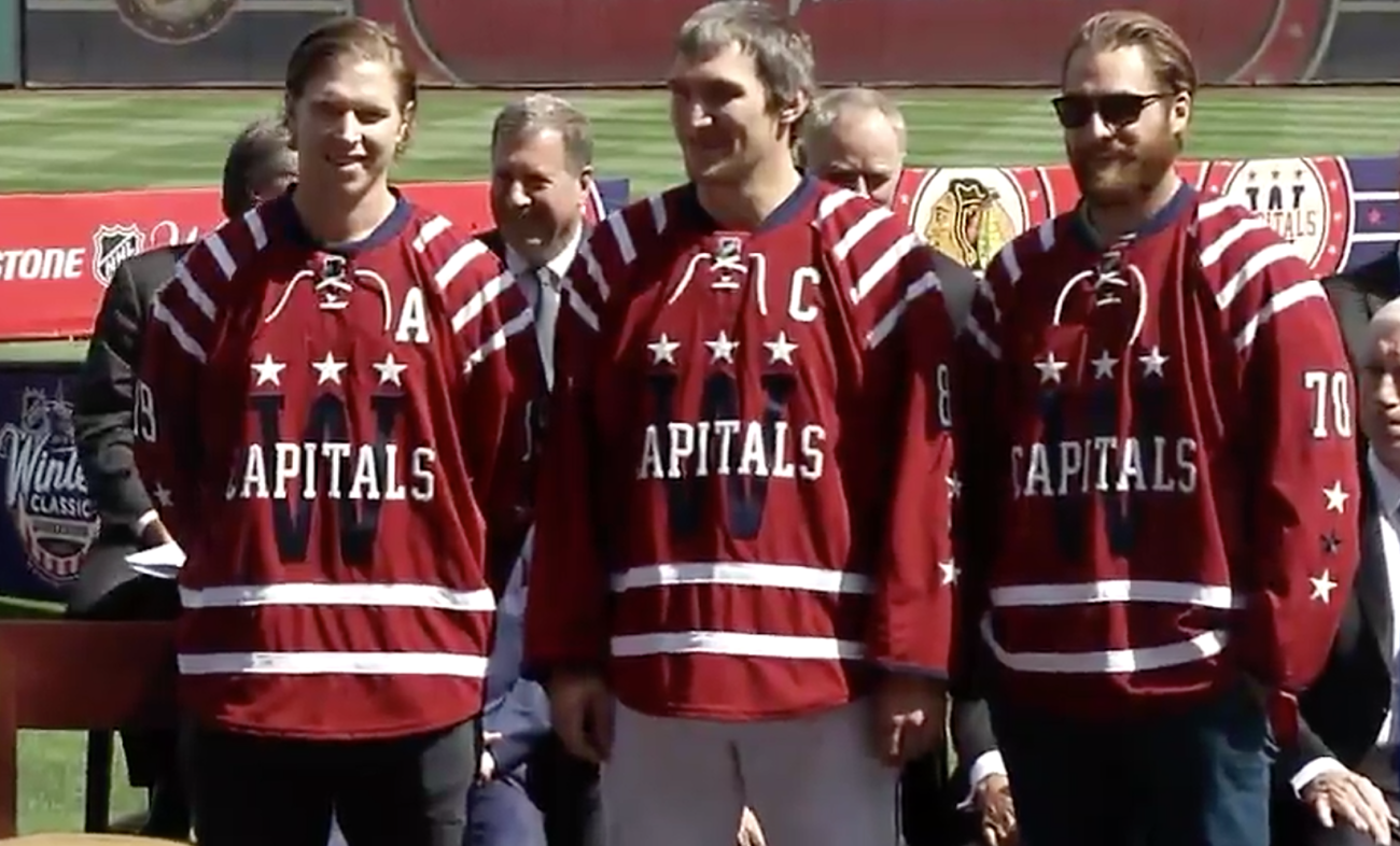 Washington Capitals 2015 Winter Classic Jersey
