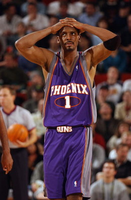 Penny in the updated 2001 Phoenix Suns Purple Road jersey