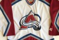 vintage deadstock colorado avalanche starter hockey jersey