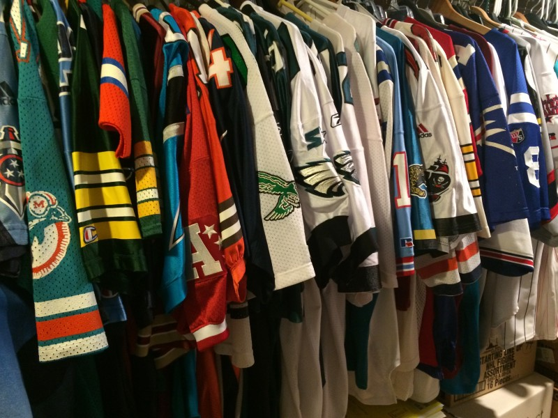 We'll be bringing out plenty of throwback jerseys for the event