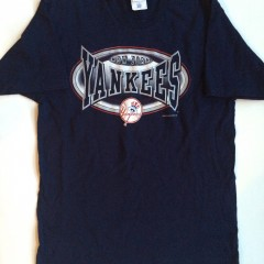 vintage new york yankees pro player mlb t shirt size large 1998