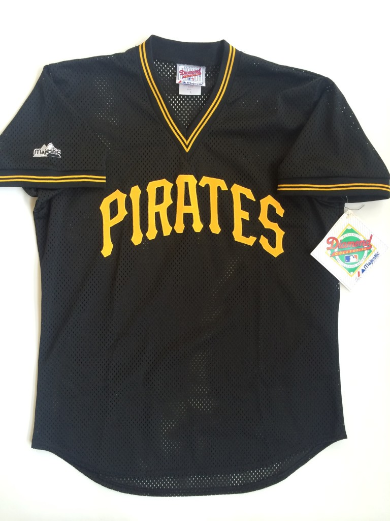 444a1e3e101 vintage pittsburgh pirates barry bonds authentic majestic throwback jersey