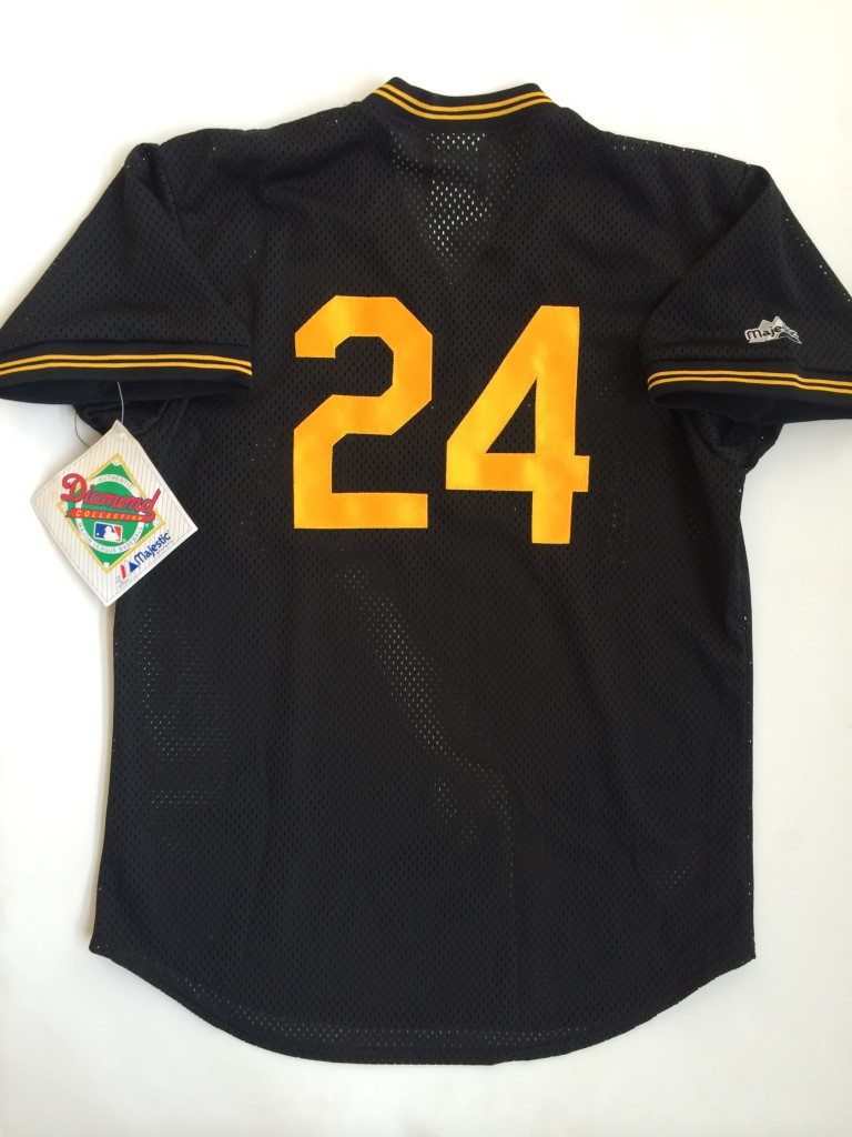 cba842c61cd 1992 Barry Bonds Pittsburgh Pirates Authentic Majestic MLB Jersey ...