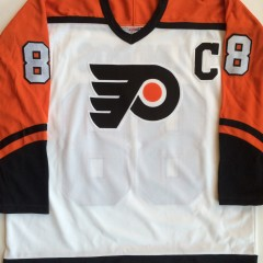 vintage eric lindros authentic philadelphia flyers jersey