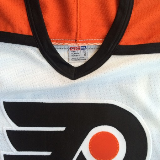 size xl eric lindros flyers jersey