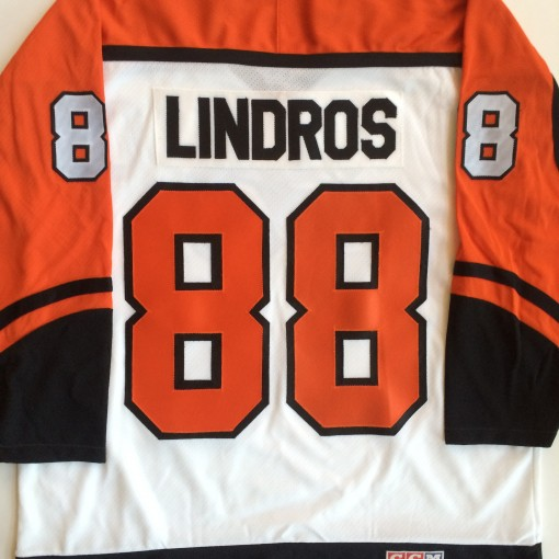 throwback eric lindros philadelphia flyers jersey